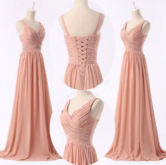 Cheap bridesmaid dresses peach bridesmaid dresses simple for Cheap simple plus size wedding dresses